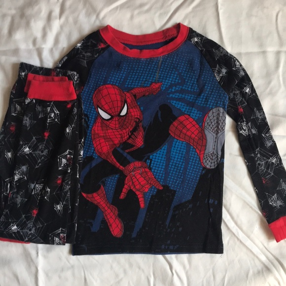 Disney Store The Amazing Spiderman PJ Pajamas for Boys Spider Man